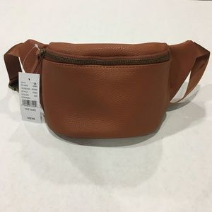 37dbd734d Handbags - Brand New Light Brown Faux Leather Fanny Pack NWT